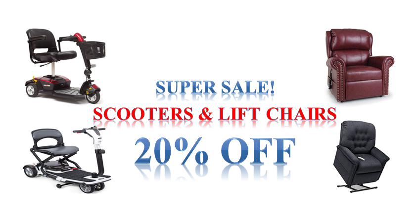 20% Off Lift Chairs