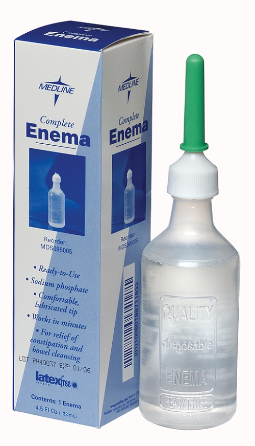 Enema Mineral Oil Solutions