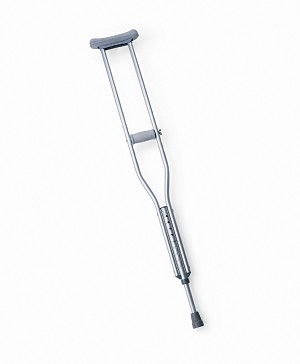 Tall Adult Push Button Crutches