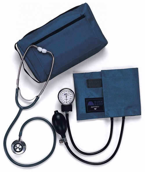 Aneroid Blood Pressure Monitor and Stethoscope Adult