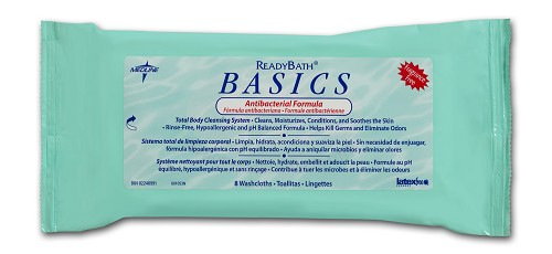 ReadyBath Antibacterial Basics Fragrance Free (8pk)