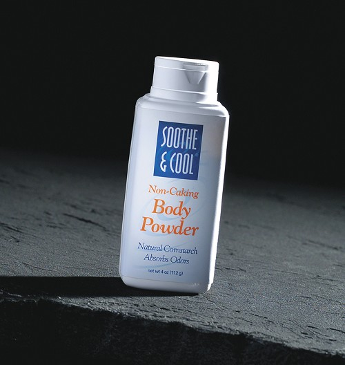 Soothe and Cool Cornstarch Body Powder (14oz) (Case of 12)