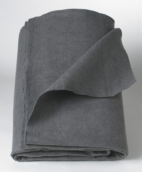 Disposable Blanket, Gray, 40x80