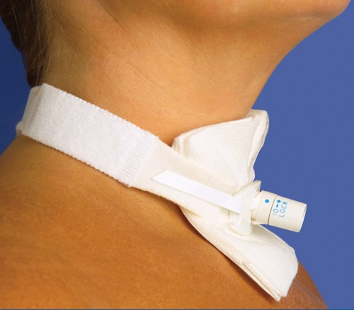 Adult Two-Piece Tracheostomy Tube Holder