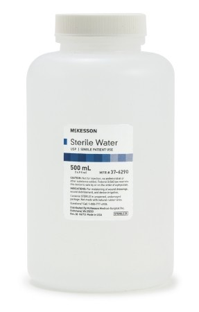 McKesson Irrigation Solution Sterile Water for Irrigation Not for Injection Bottle