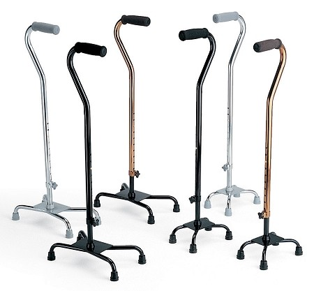 Bariatric Quad Cane w/ Large Base