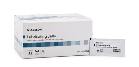 4oz Lubricating Jelly Mckesson Tube Sterile