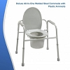 All-In-One Welded Steel Commode