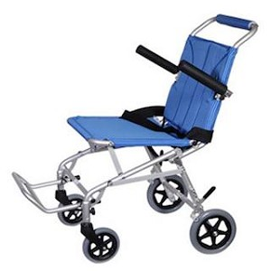 Folding Transport Chair With Carry Bag Healwellmedicalsupply